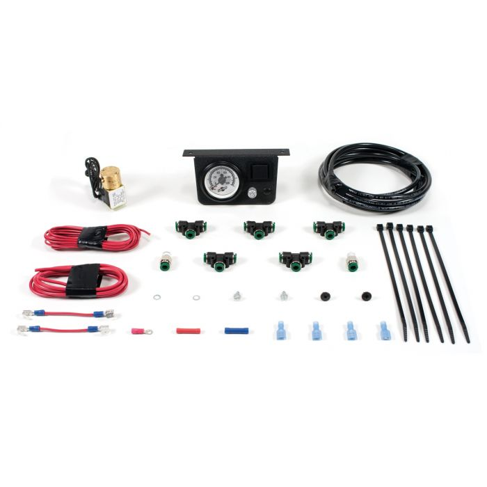 Air Lift Load Controller I Front Air Spring Add On Suspension Air  Compressor Kit (ALC25801)