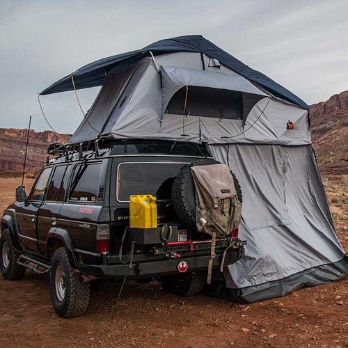 Tepui Tent Kukenam XL Ruggedized SKY - Haze Grey & Tepui Tents Kukenam Xl Ruggedized Sky - Haze Grey 01KXL041606 ...