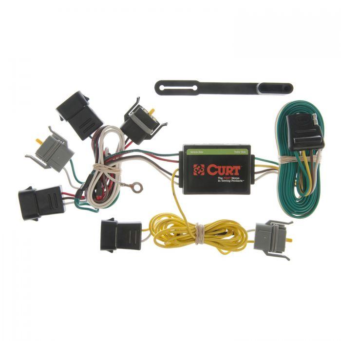 Phenomenal Curt Custom Wiring Harness Trailer Connector 55343 Curt Wiring Digital Resources Skatpmognl